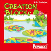 PEWACO(1007)Creation Blocks創意方塊-空間、數學、邏輯之益智桌遊
