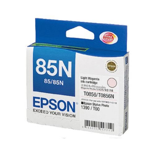 【愛普生EPSON】T122600 NO.85N 淡紅色 原廠墨水匣