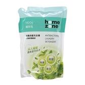HomeZone除臭抑菌洗衣精1800ml補充包X3包