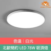 HONEY COMB 北歐簡約LED 78W單色溫吸頂燈 白殼TA8021W 白光