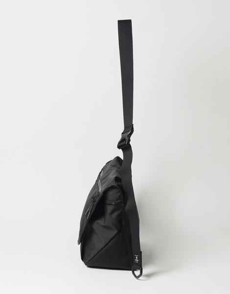 MSPC(master-piece) Flappy No.12850-BLACK [輕量復古休閒側背包-黑色]