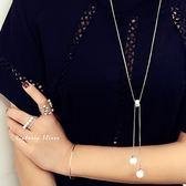 S925銀  光彩亮麗 珍珠長項鍊-維多利亞180137
