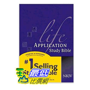 [104美國直購] Life Application Study Bible NKJV