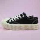 【iSport愛運動】EXCELSIOR 正韓代購 低筒帆布鞋 餅乾鞋 正品 ESM6017CVBK 黑 男女款