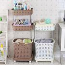日式進口材質臟衣籃 臟衣服收納筐 塑料洗...