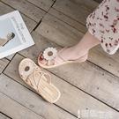 平底涼鞋 2021年夏季新款百搭ins潮平底羅馬女鞋夏天仙女風女士涼鞋女2021 智慧 618狂歡