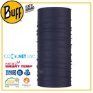 【BUFF 西班牙 Coolnet 抗UV頭巾 沉穩深藍】119328/圍脖/帽子/口罩/圍巾/吸溼排汗