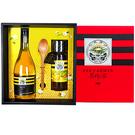 雙喜醋蜜禮盒-金鐉蜂蜜425g(1瓶)+蜂蜜醋600ml(1瓶),特惠88折【養蜂人家】