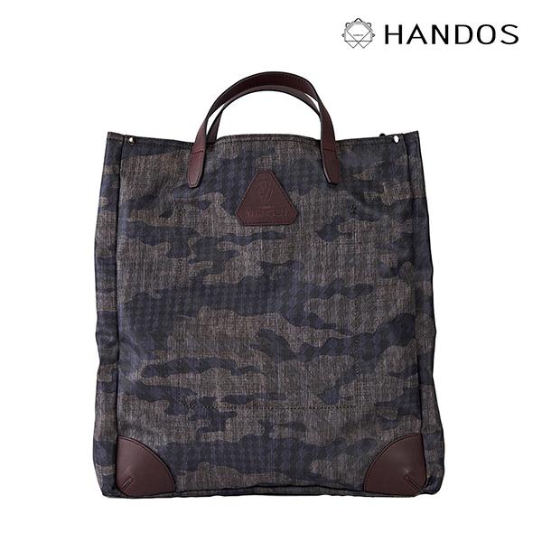 HANDOS|Old Pal 超輕帆布肩背手提托特包 - 迷彩紫