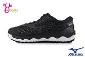 Mizuno 美津濃 成人女款 WAVE SKY 3 SW 寬楦 慢跑鞋 運動鞋 路跑 馬拉松 H9255#黑色◆OSOME奧森鞋業