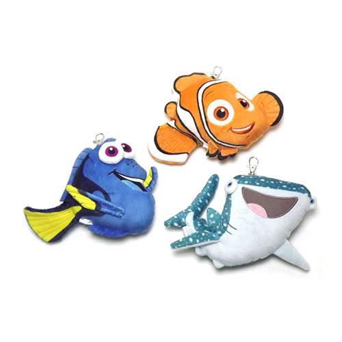 《SHO-BI》海底總動員2:多莉去哪兒 絨毛造型伸縮車票套★funbox生活用品★_SB73944.SB73945.SB73946