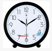 北極星座鐘簡約現代石英鐘客廳床頭 靜音臺式兩用老人鐘掛鐘 臺鐘『摩登大道』