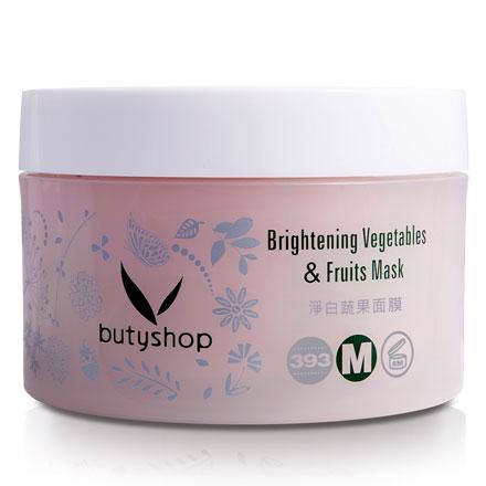 淨白蔬果面膜 Brightening Vegetables & Fruits Mask (250gm)-butyshop
