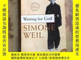 二手書博民逛書店Waiting罕見for God (英文原版)5375 Simo