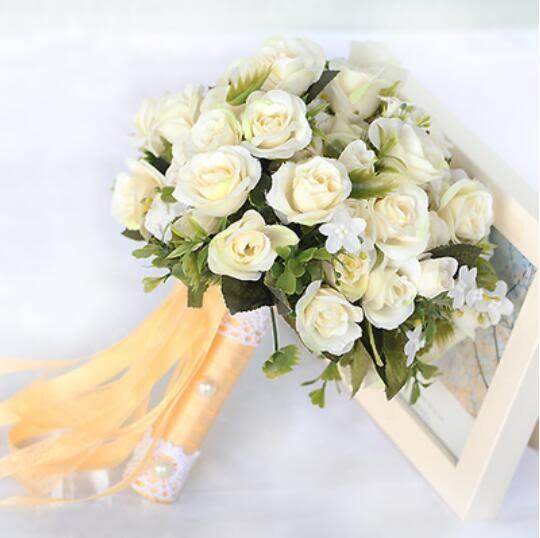 繡球手捧花韓式新娘婚禮仿真手捧花道具  母親節禮物