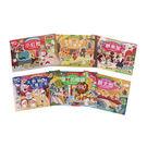球球館 格林童話貼紙:小紅帽 (全6冊)...