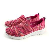 SKECHERS GOWALK JOY 運動鞋 懶人鞋 女鞋 針織 粉紅色 15615PKMT no835