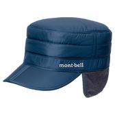 [好也戶外]mont-bell Exceloft 工作帽(帽簷可折、刷毛蓋耳層)/黑/深藍 No.1118128-BK/PUID