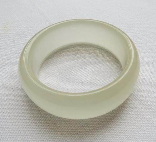 冰種白玉手鐲#0926  56mm