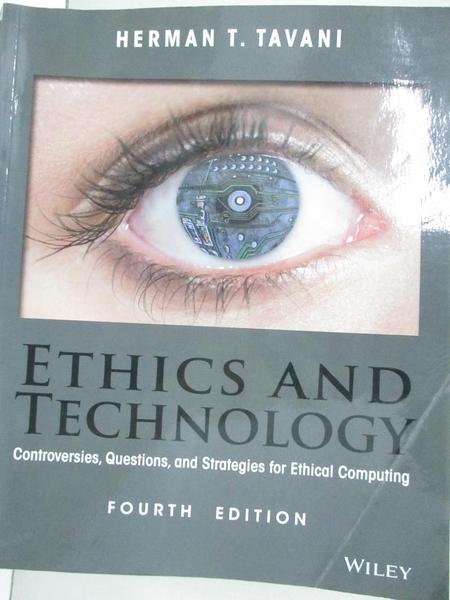 【書寶二手書T1/大學資訊_I9B】Ethics and Technology: Controversies, Questions, and..