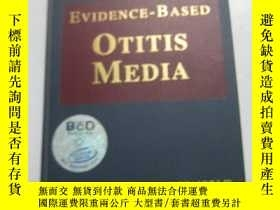 二手書博民逛書店原版罕見EVIDENCE-BASED OTITIS MEDIA