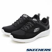 【Skechers 促銷6折】SKECHERS Burst 黑 男 運動鞋  52102BKW