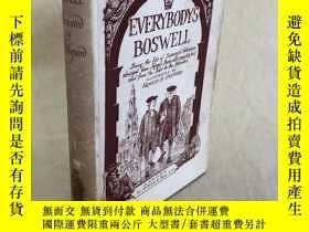 二手書博民逛書店Everybody s罕見Boswell 人手一冊鮑斯威爾Y28524 Boswell London G.Be