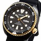 [萬年鐘錶]  SEIKO PROSPEX 防水200米潛水 機械錶 黑錶面 矽膠錶帶 大錶徑 45mm 4R36-06H0SD SRPC48J1