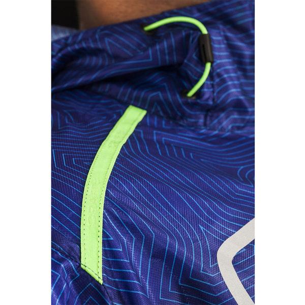 【速捷戶外】瑞典Craft 1903208 輕量網格防潑水風衣外套(男)藍彩印, 跑步 單車 野跑 馬拉松 夜跑