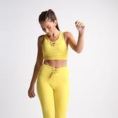 【南紡購物中心】【Flexi Lexi】Yellow Mellow Flexi Crop 運動內衣