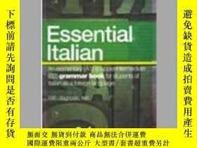 二手書博民逛書店L italiano罕見essenziale con test di autovalutazioneY4057