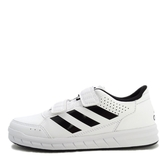 Adidas Altasport CF K [BA7458] 大童鞋 運動 休閒 透氣 舒適 襪套 魔鬼氈 愛迪達  白