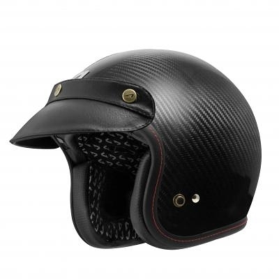 【東門城】ASTONE SPORSTER II (碳纖原色) 半罩式安全帽 復古帽