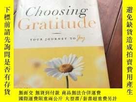 二手書博民逛書店Choosing罕見gratitude Your journey to joyY429456 Nancy Le