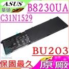 ASUS C31N1529 電池(原廠)-華碩 BU203U,BU203 電池,B8230 電池,B8230U,B8230UA,BU203UA, C31N1529,3ICP6/67/76