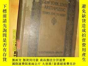 二手書博民逛書店NEW罕見YORK STATE ARITHMETIC 紐約州算術