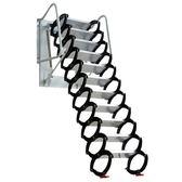 一件8折免運 閣樓伸縮樓梯家用加厚隱形伸拉梯室內外壁掛整體折疊別墅復式梯子xw