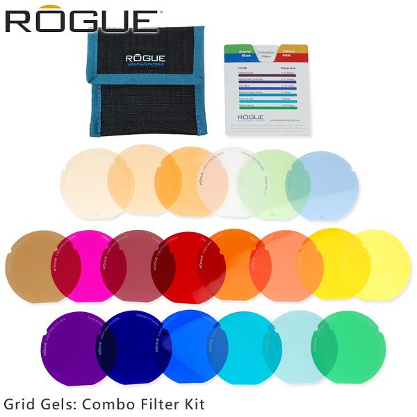 EGE 一番購】ROGUE 樂客【Grid Gels: Combo Filter】20色 不含蜂巢罩需另購【公司貨】