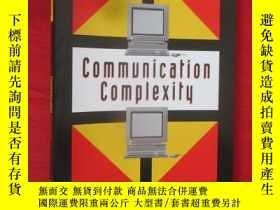 二手書博民逛書店Communication罕見Complexity (16開)