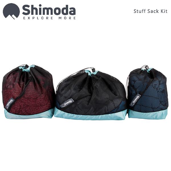 EGE 一番購】Shimoda【Stuff Sack Kit】網狀配件袋 一套3入不同尺寸【公司貨】