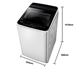 《Panasonic 國際牌》9公斤 單槽直立式洗衣機 NA-90EB-W
