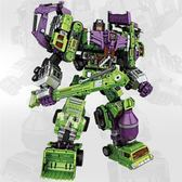 1111購物節-變形玩具金剛大力神gt組合機器人組合體工程車虎戰隊男孩玩具ZMD