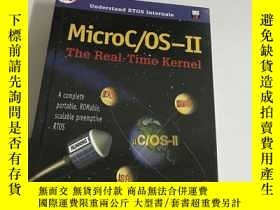 二手書博民逛書店MicroC罕見OS II: The Real Time Ker