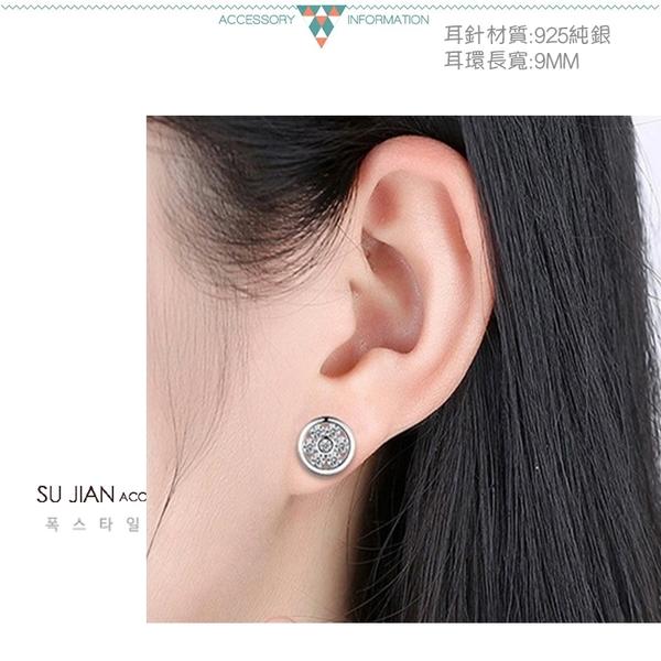 素簡手作《ES106》正白k~耳環 珍珠耳環 蝴蝶結耳環 韓劇耳環 愛心耳環 花朵耳環 純銀耳針