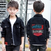 男童純棉牛仔外套 秋裝2020新款兒童上衣 中大童時尚破洞夾克衫潮 Korea時尚記