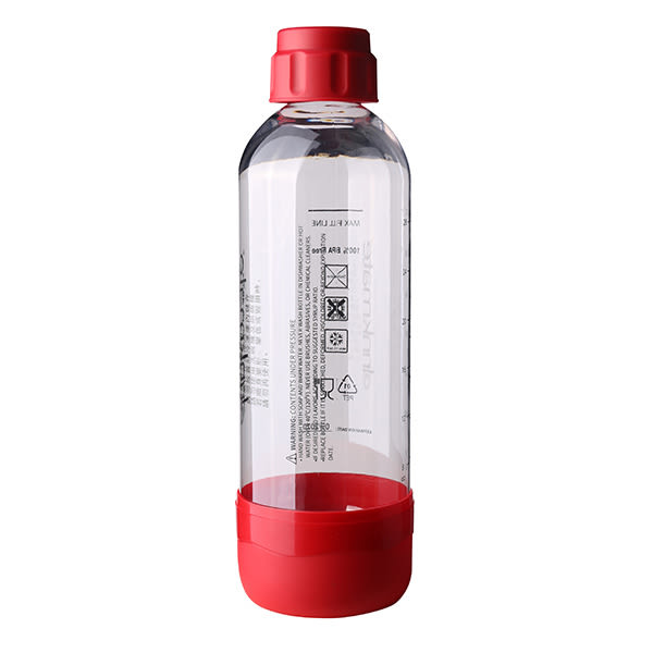 THOMSON 健康氣泡水機 TM-SAU02W 配件:大水瓶(1000ml) 紅色