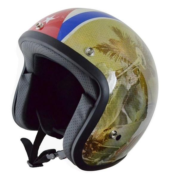 [安信騎士] 義大利 ORIGINE Sprint CUBA 2.0BiancaPerla 內墨片 復古帽 半罩 安全帽