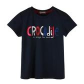 『小鱷魚童裝』貼鑽LOGO T恤(08號~20號)533457