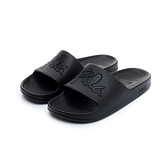 Fila Sleek Slide [4-S326U-000] 男女鞋 運動 涼鞋 拖鞋 休閒 舒適 輕量 防水 黑