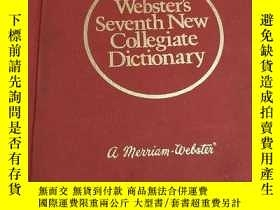 二手書博民逛書店WEBSTERS罕見SEVENTH NEW COLLEGIATE